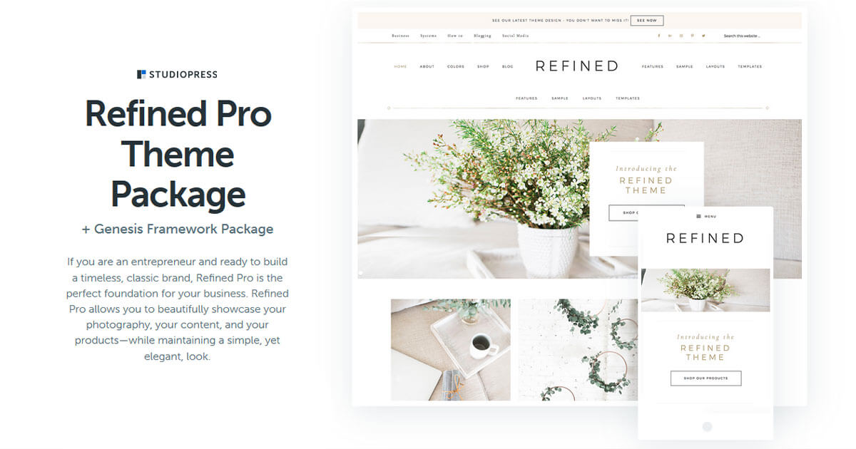 Refined Pro Theme Download