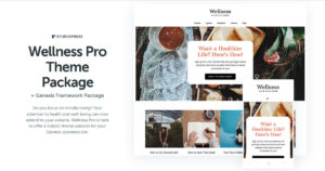 Wellness Pro Theme Download