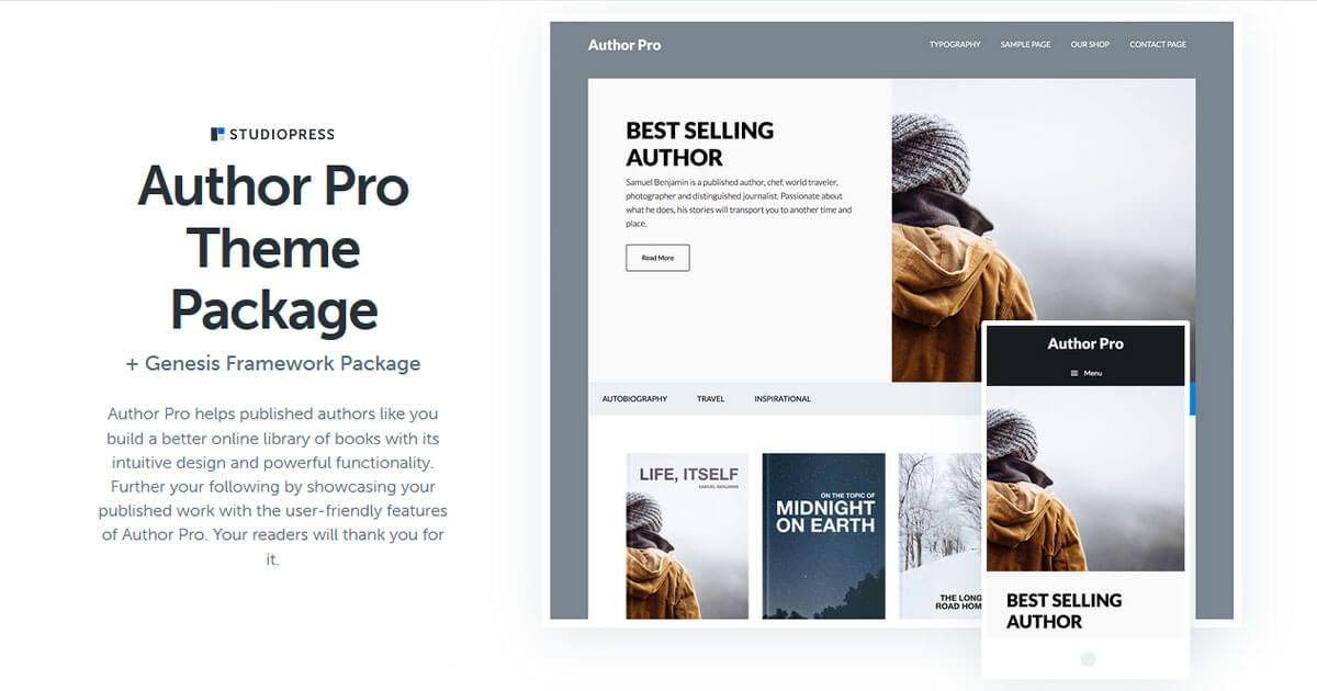 Author Pro Theme Download