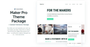 Maker Pro Theme Download