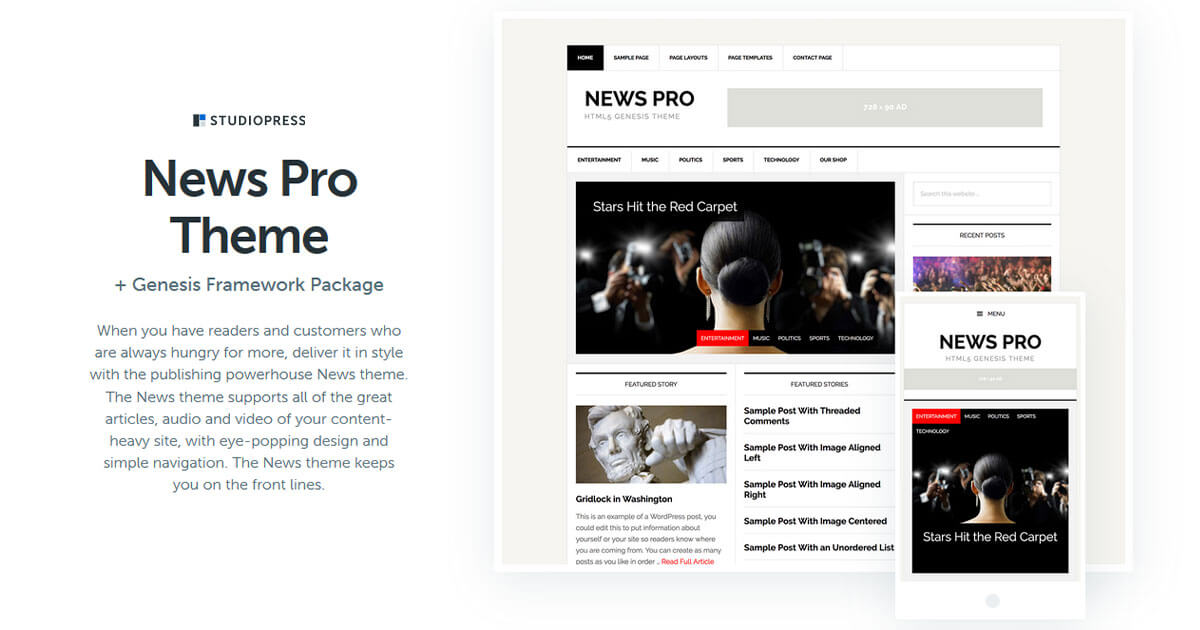 News Pro Theme Download