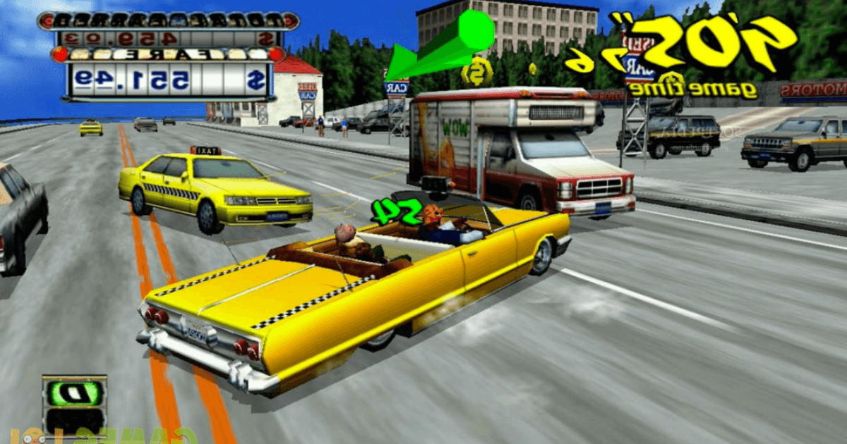 Crazy Taxi game download