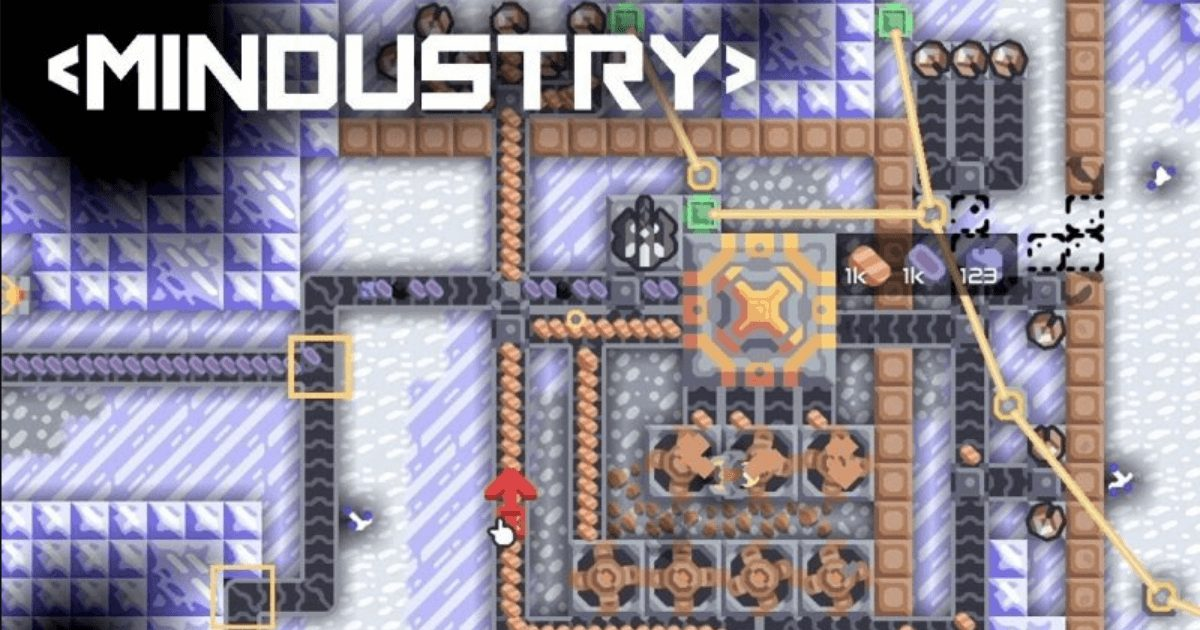 Mindustry game (