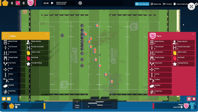 Rugby Union Team Manager 3