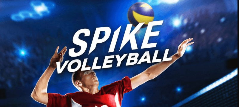 Spike Volleyball game