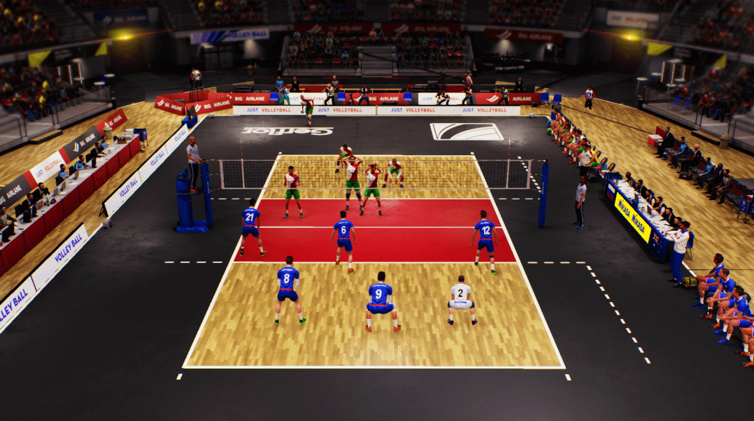 Spike Volleyball game download