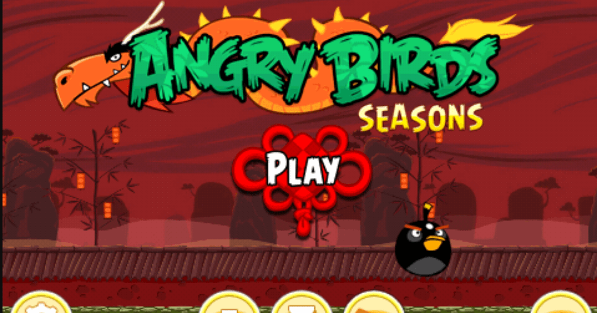 Angry Birds Seasons The Year Of Dragon game