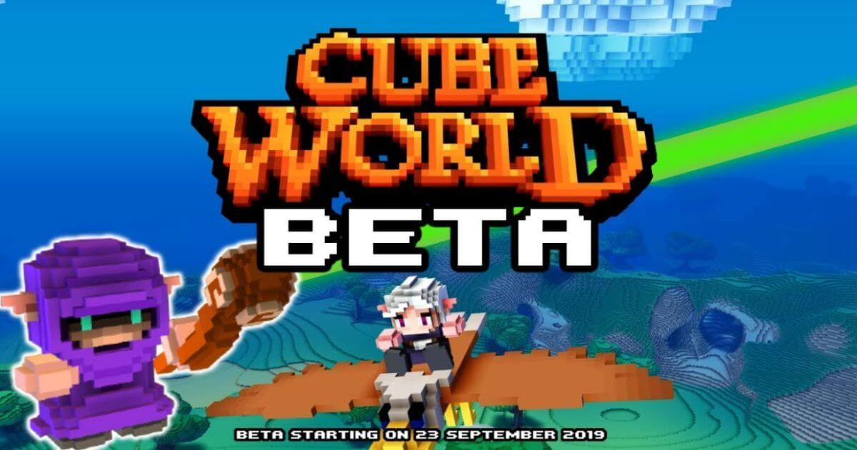 Cube World BETA Pour PC - WpGenuine