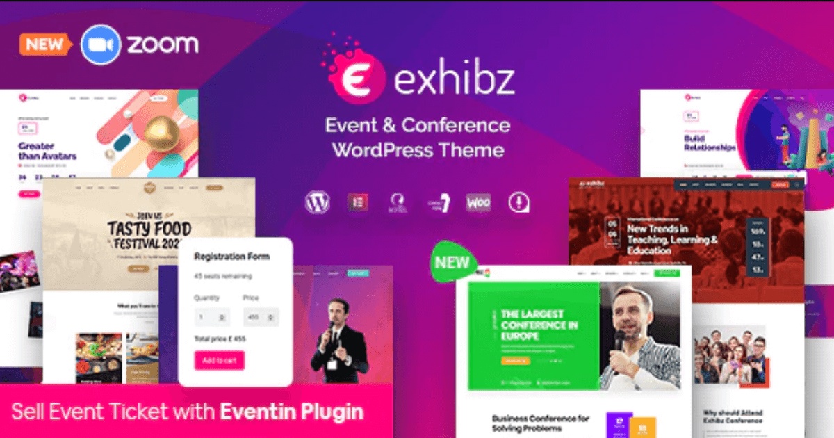 Exhibz - Event Conference WordPress Theme Free Download-WpGenuine