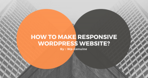 How to make Responsive Wordpress Website