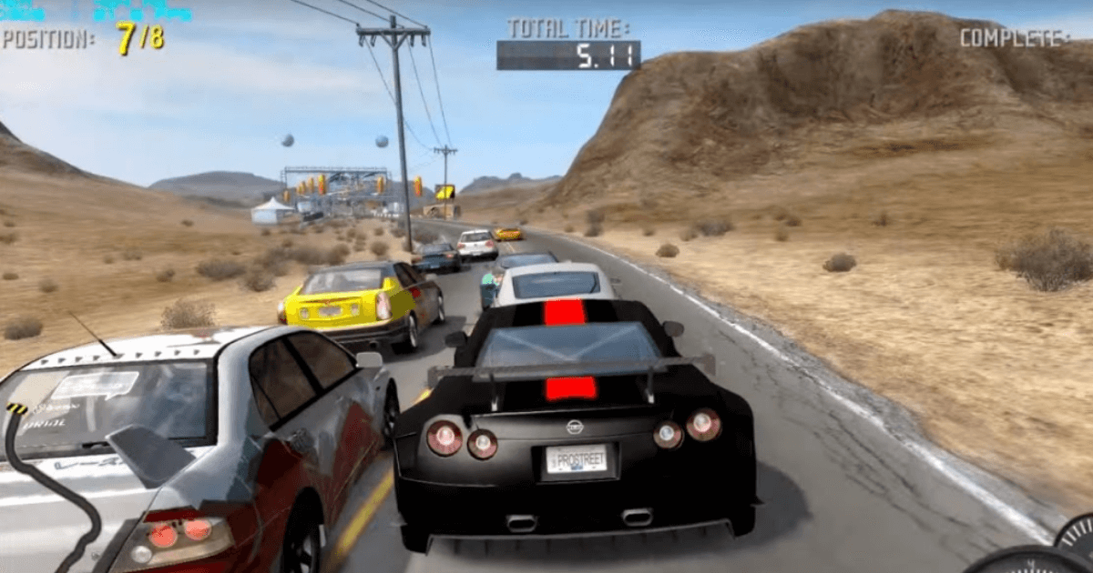Need For Speed ProStreet game
