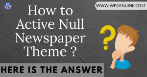 Active Newspaper Wordpress Nulled Theme