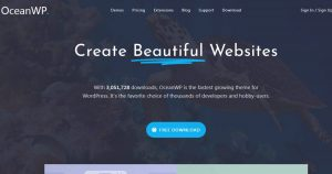 OceanWP Theme and Premium core extension bundle free download-OceanWP