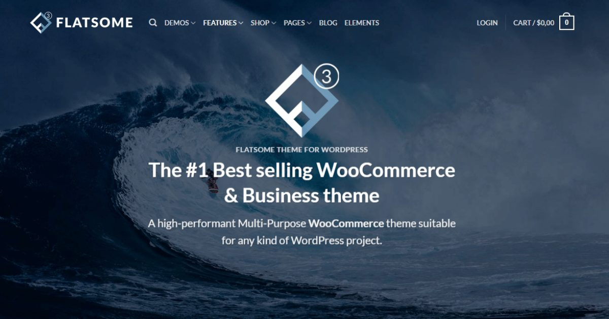 Flatsome Wordpress Theme Free Download-WPGenuine