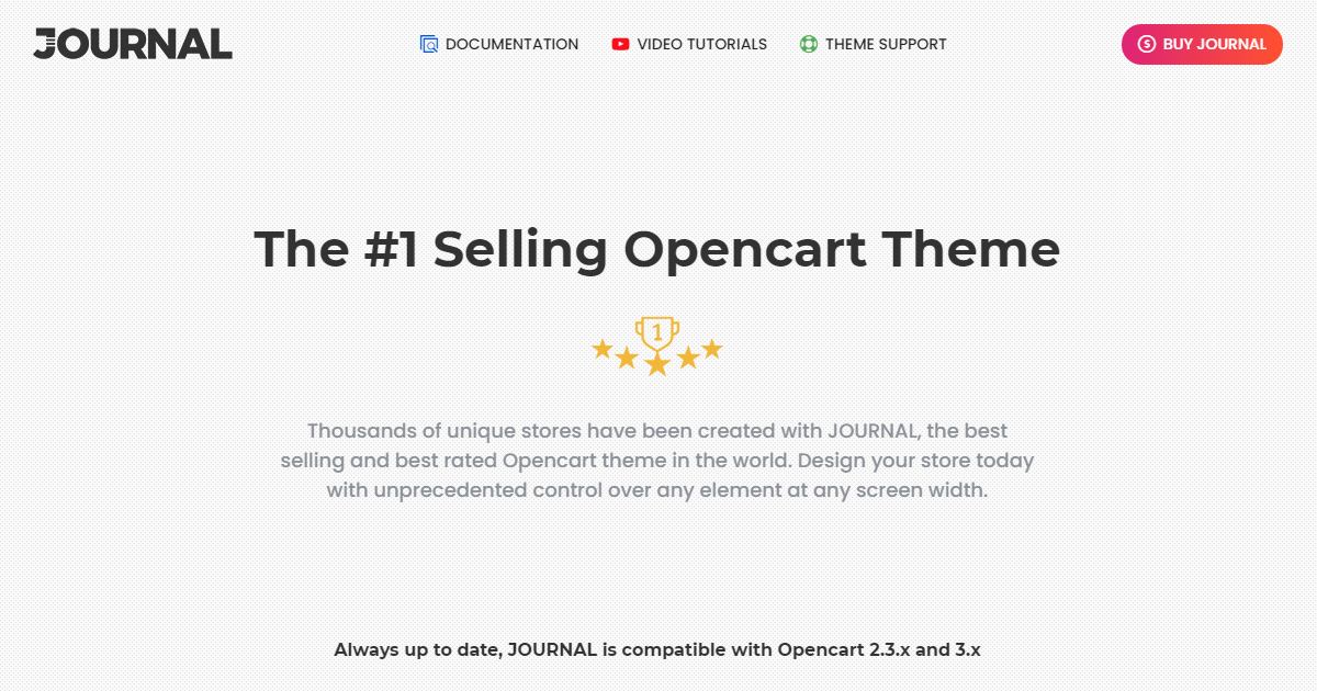 Journal 3 Opencart Nulled Free Download-WPGenuine