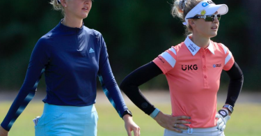 Screenshot - Falcons land as USA golf player Nelly Korda takes off to top of leaderboard after Round 2